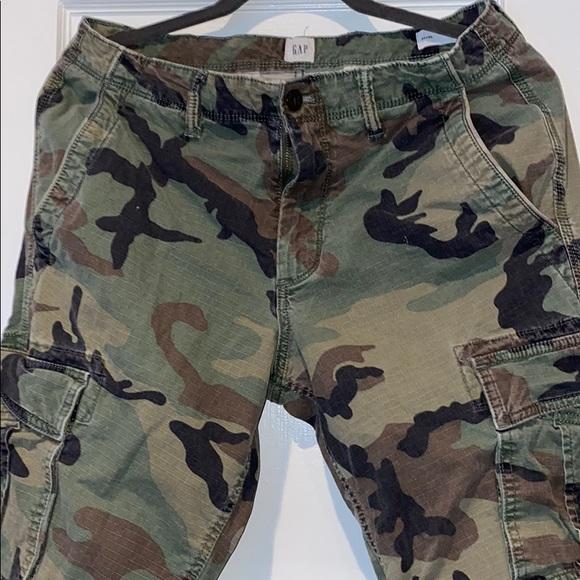 Slim fit Men's Camo Cargo Pants